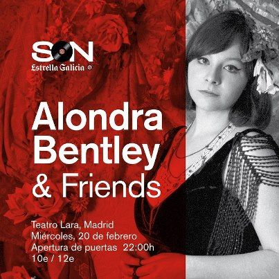 Alondra Bentley en Madrid
