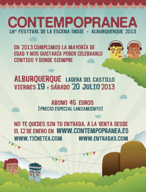 cartel contempopránea 2013