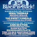 cartel Black is Back por dias