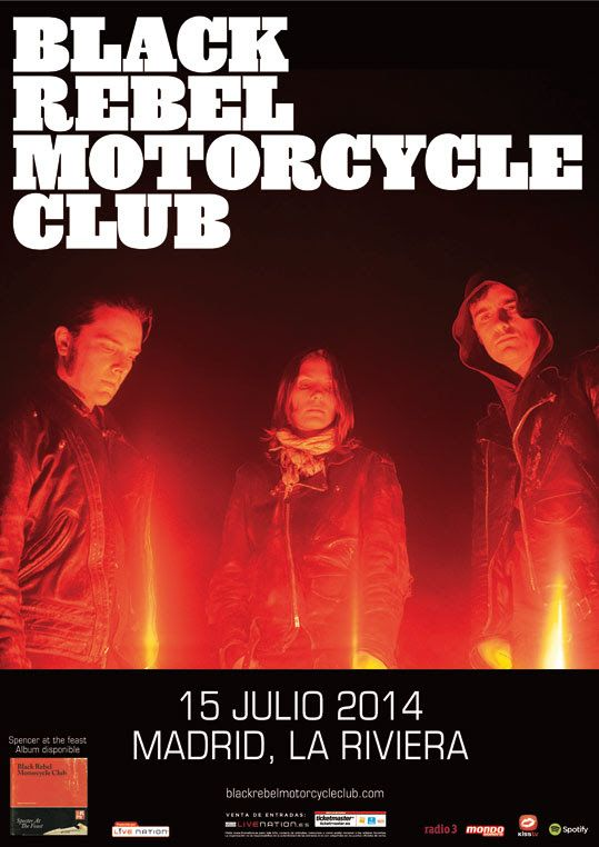 Black Rebel Motorcycle Club en La Riviera
