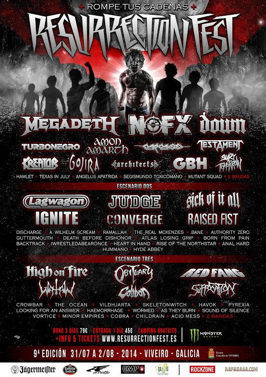 Megadeth al Resurrection Fest