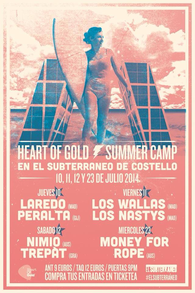 Summer Camp Heart of Gold 2014
