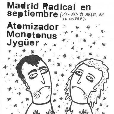 cartel Madrid Radical septiembre 2014