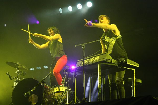 Matt and Kim/Arenal Sound/Vicent Comes