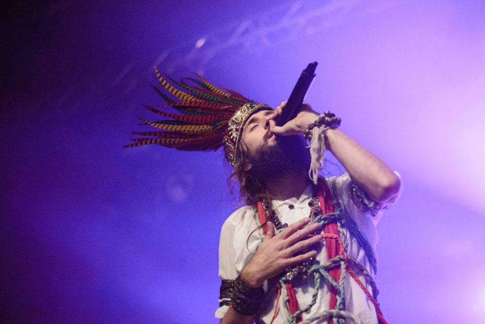 Crystal Fighters @ Palacio de Congresos de Granada por María Barba