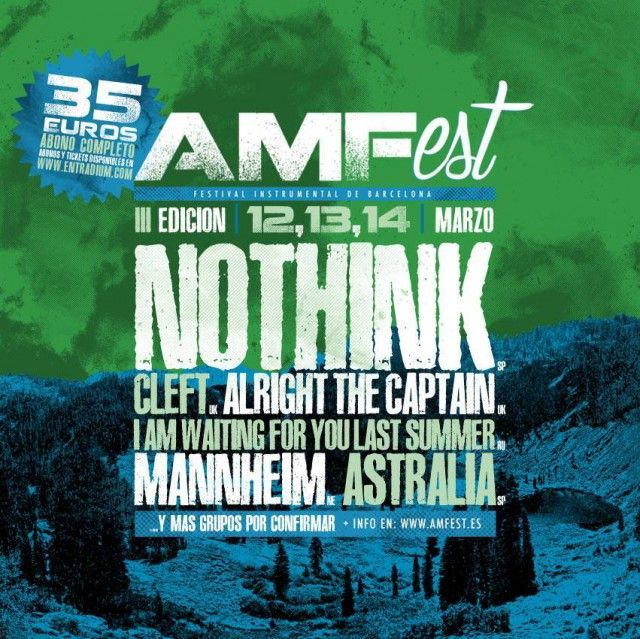 Nothink confirmados en el AMFest 2015