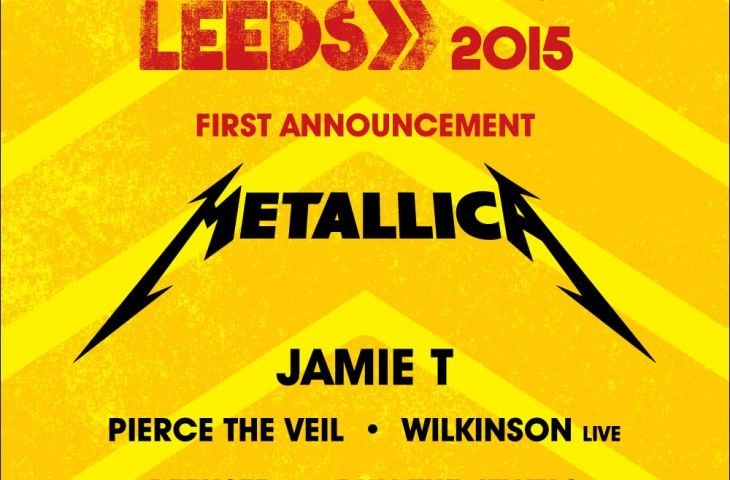 Metallica al Reading/Leeds Festival 2015