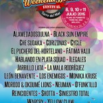 tercer avance Weekend Beach Festival 2015