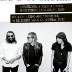 cartel gira Band of Skulls en España 2015
