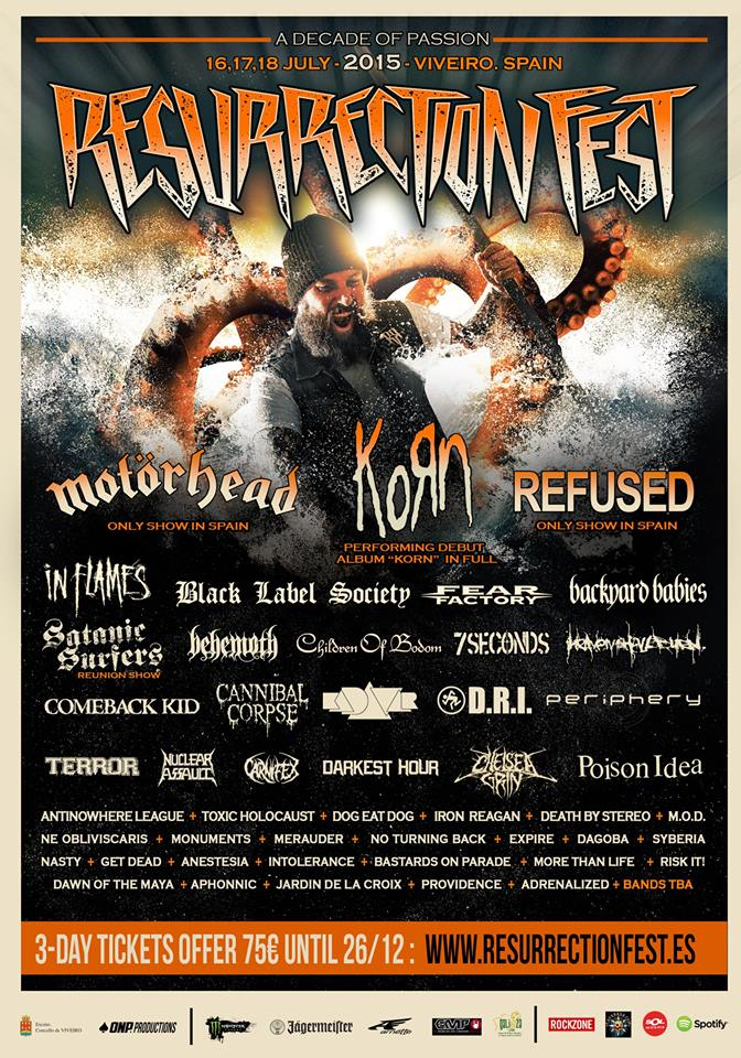 Korn al Resurrection Fest 2015