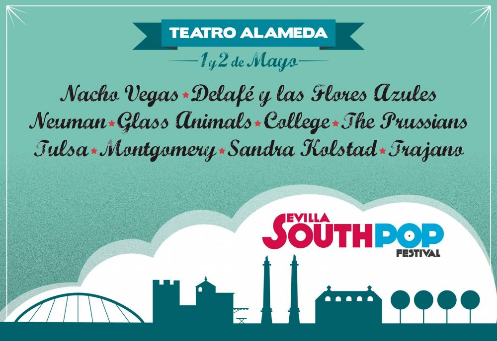 Cartel South Pop Sevilla 2015