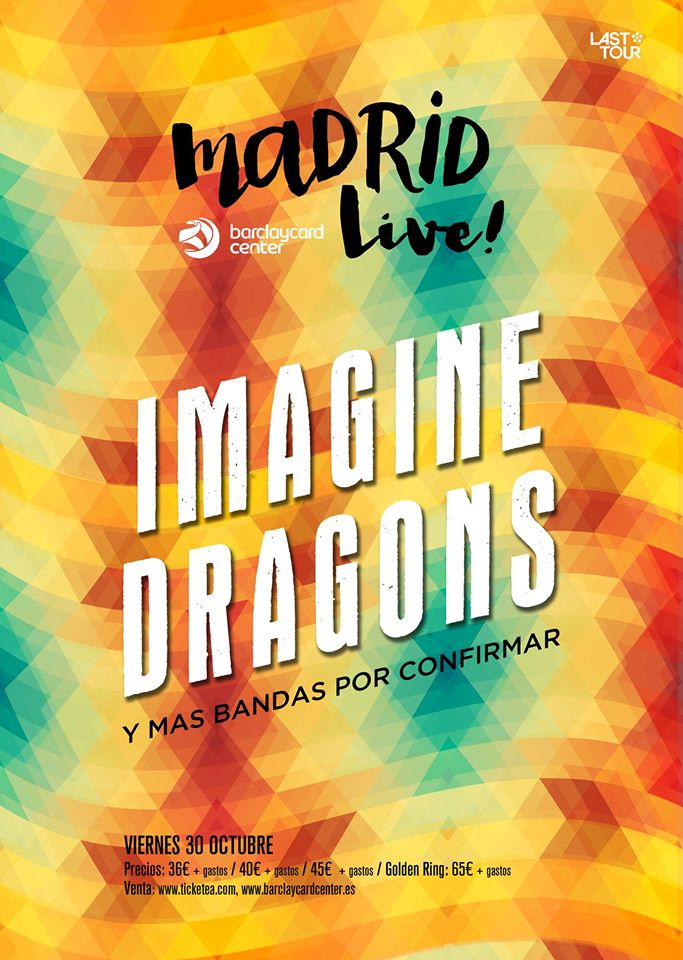 Imagine Dragons en el Madrid Live!