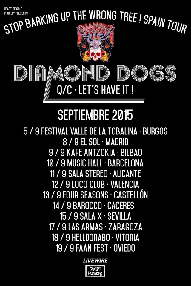 gira diamond dogs 2015 españa