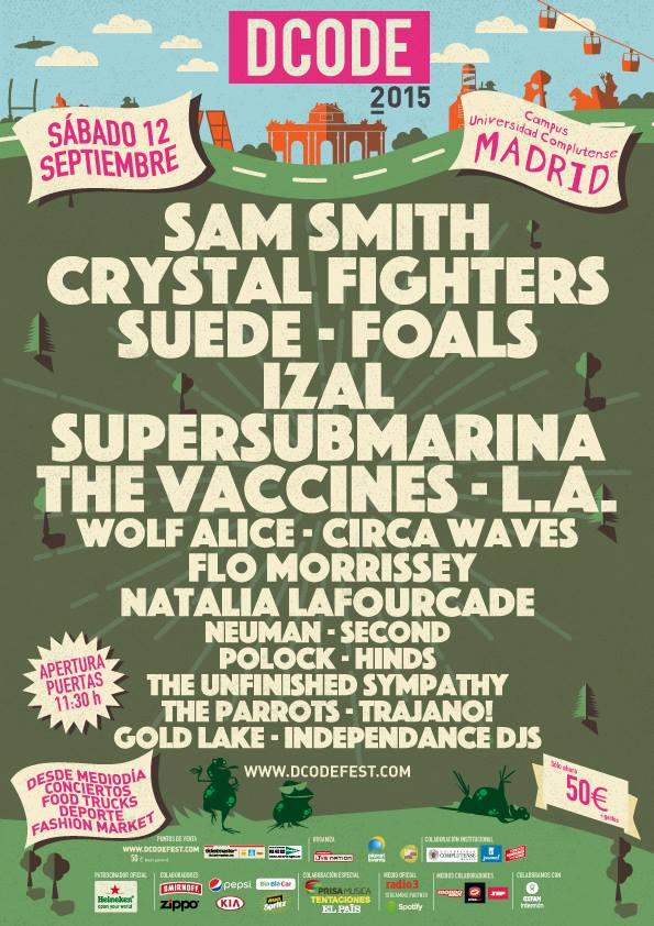 cartel completo Dcode 2015