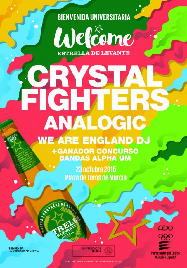 Welcome Murcia Crystal Fighters