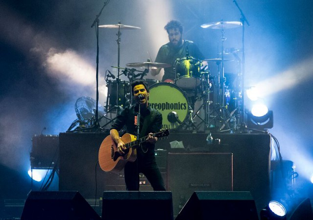 Kelly Jones, imperturbable desde 1997.