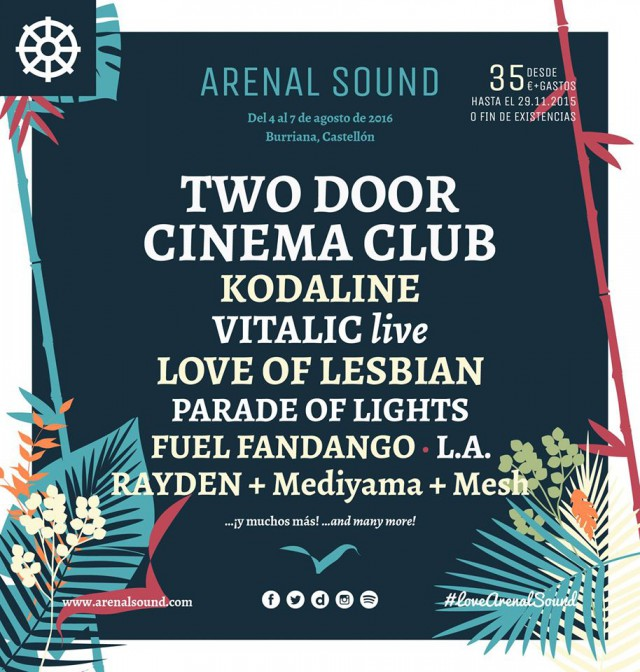 arenal sound cartel 2015