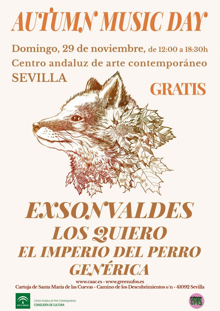 cartel Autumn Music Day Sevilla