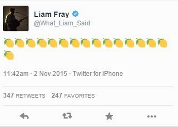 tweet Liam Fray vuelta The Stone Roses