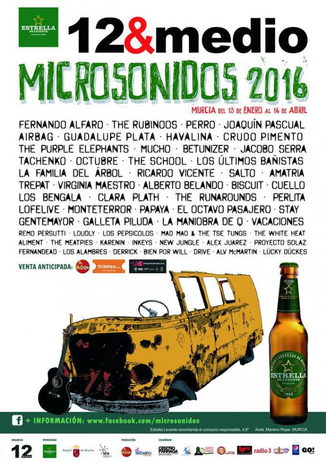 cartel microsonidos 2016