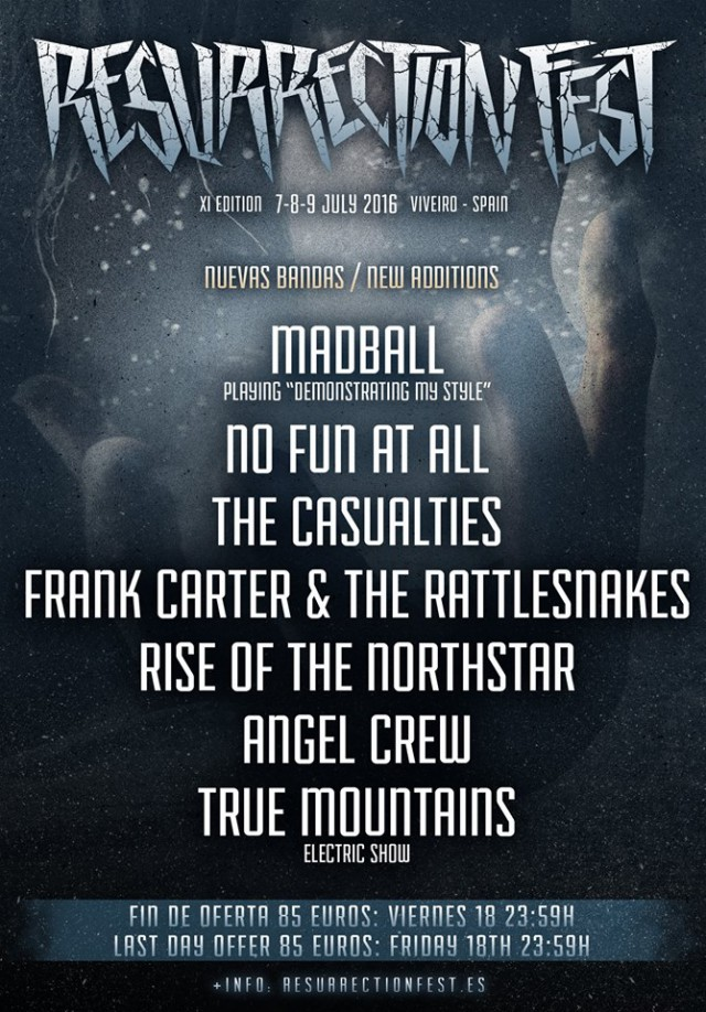 Madball y No Fun At All al Resurrection Fest