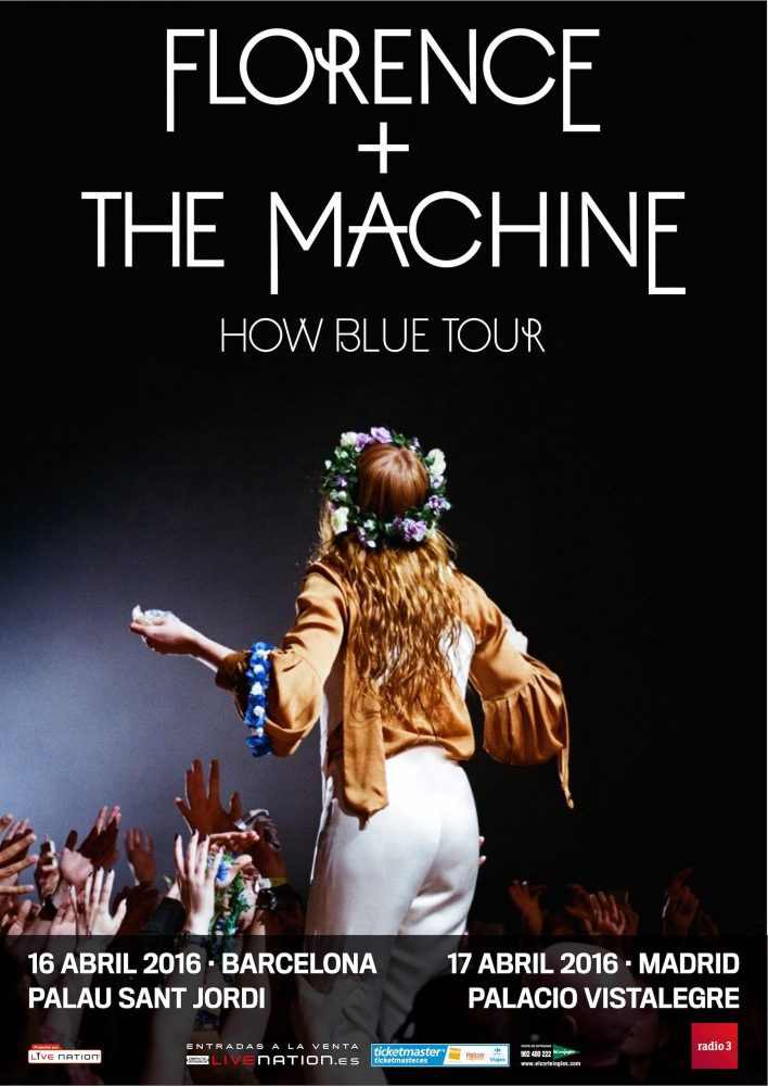 cartel Florence + The Machine