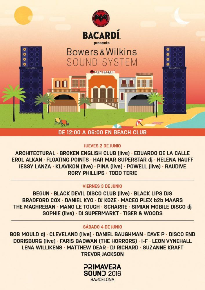 Beach Club Primavera Sound 2016