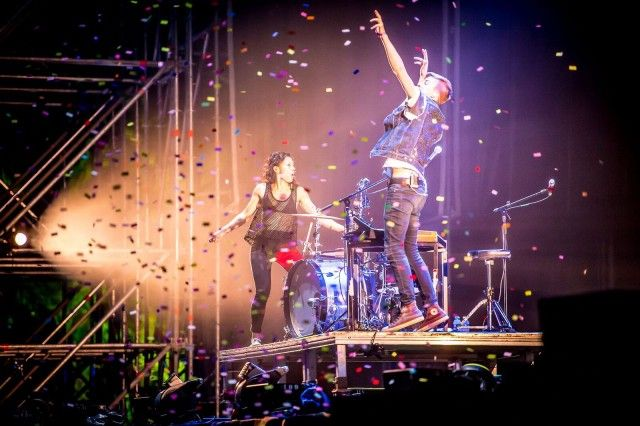 Matt and Kim/Sos 4.8 2016/Javier Rosa