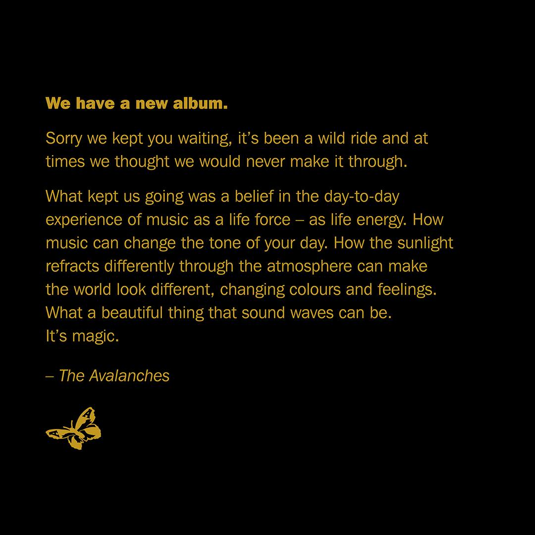 The Avalanches texto