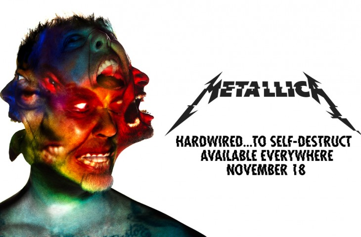 Nuevo disco de Metallica - Hardwired…to self-destruct