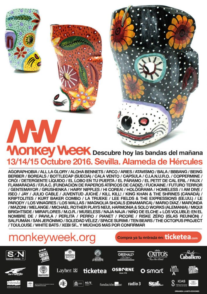 confirmaciones del Monkey Week 2016