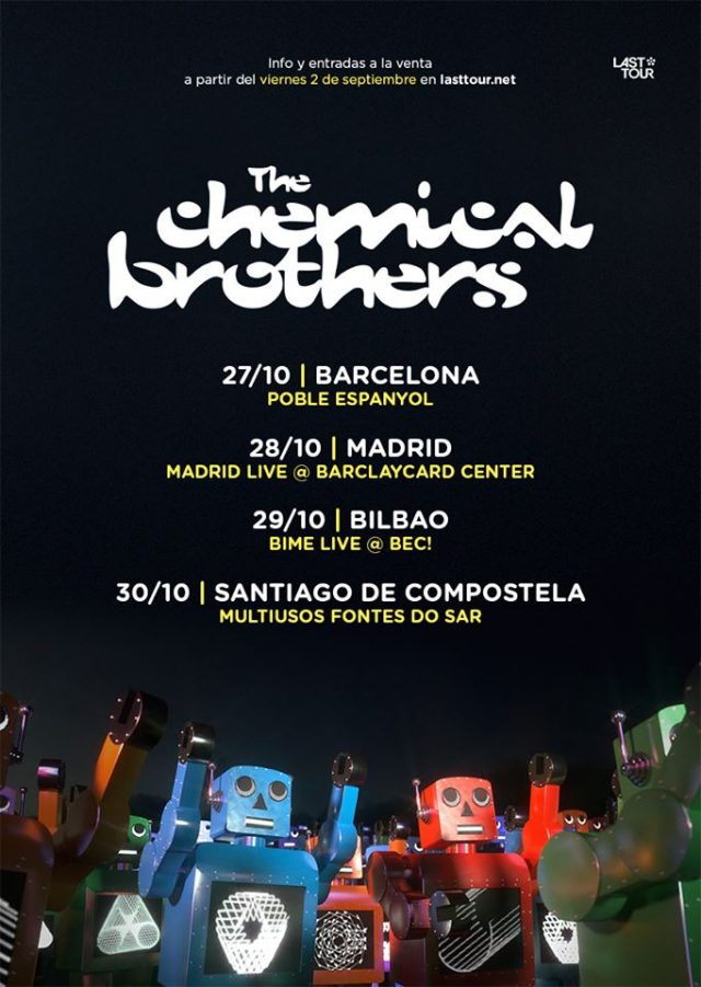 fechas de the chemical brothers