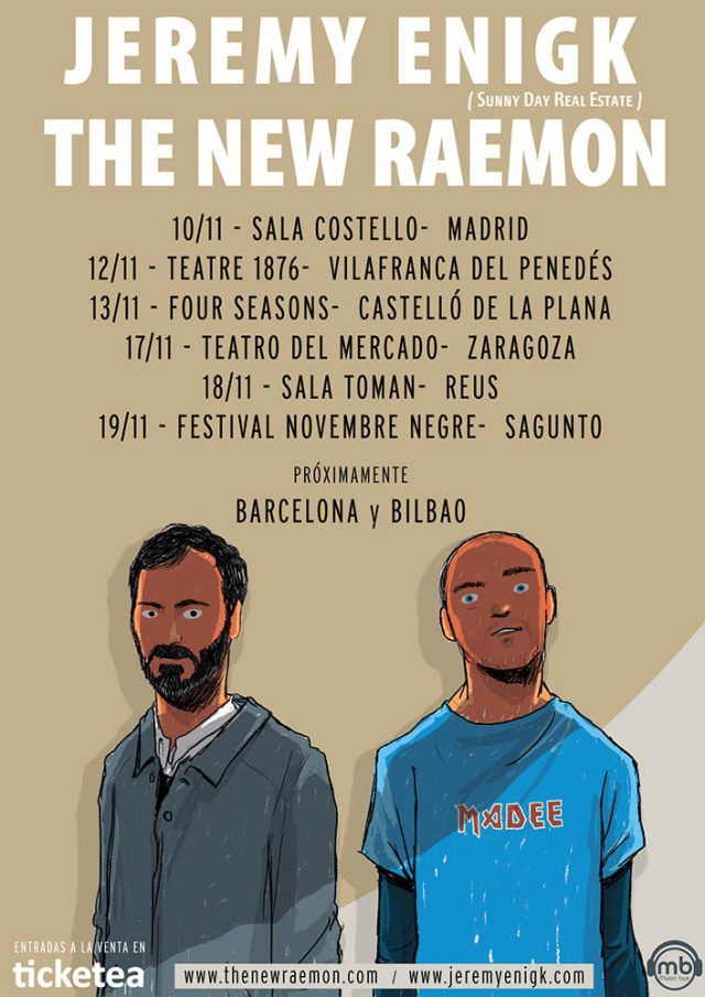 The New Raemon y Jeremy Enigk salen de gira