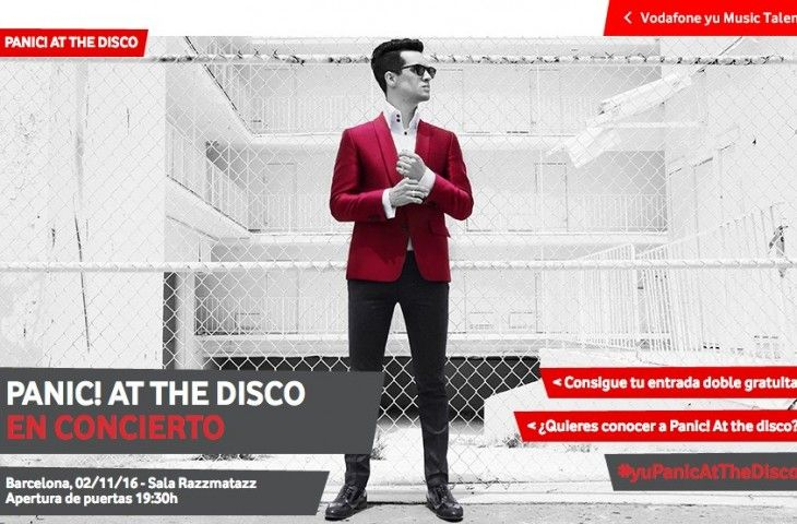 Panic! At The Disco suman fecha en Barcelona