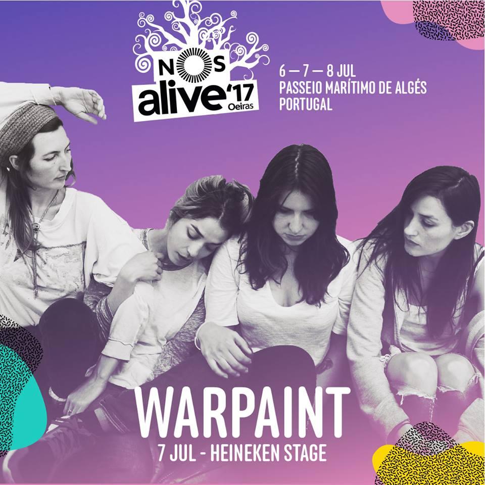 Warpaint y The Kills se suman al NOS Alive 2017
