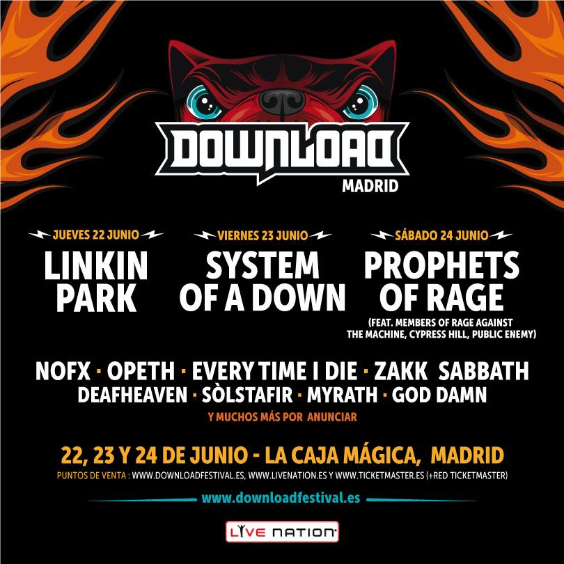 Download Festival confirma a Linkin Park y NOFX