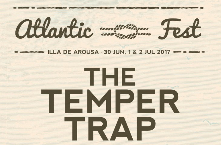 The Temper Trap al Atlantic Fest 2017