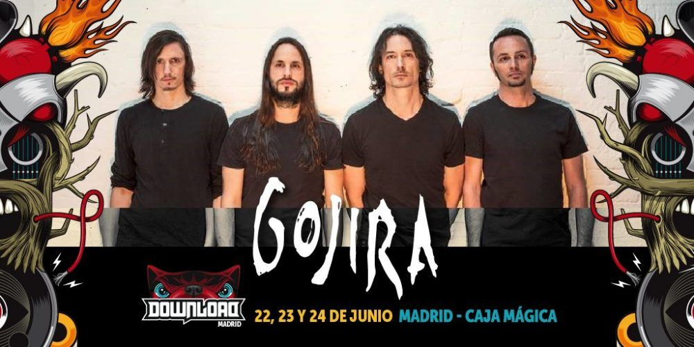 Gojira se suman al Download Festival