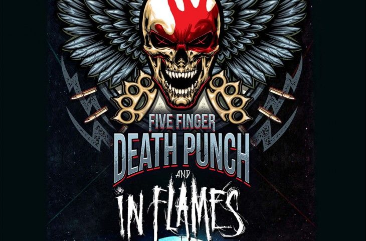 Five Finger Death Punch en Madrid y Barcelona
