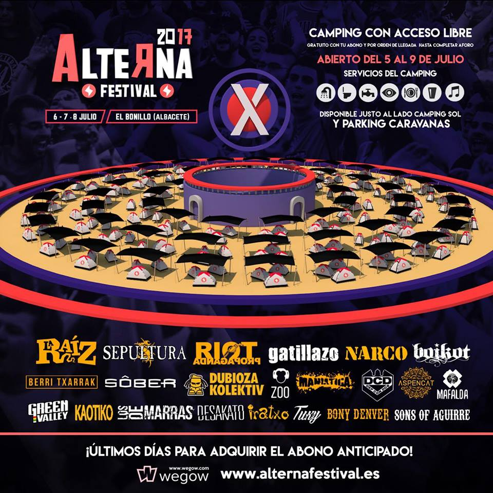 Alterna Festival / Camping con Sombra