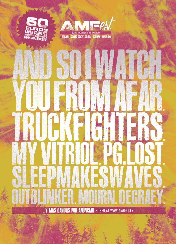 El AMFest 2017 confirma a Truckfighters y My Vitriol