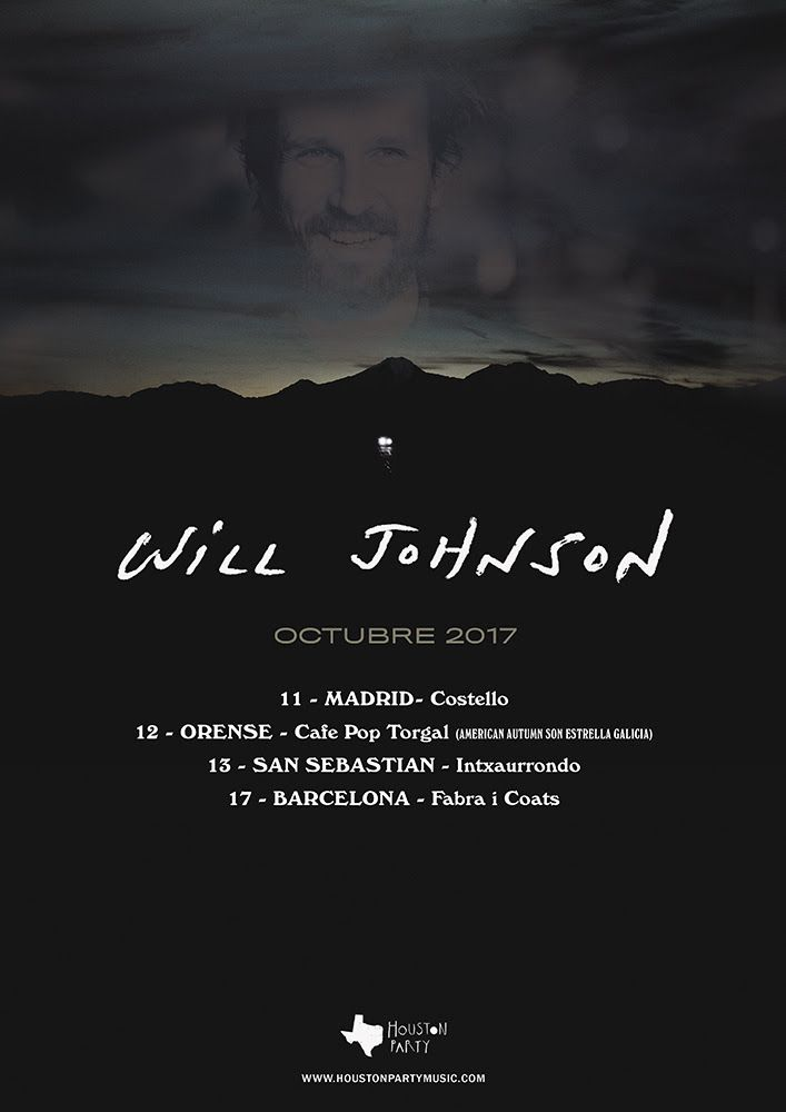 Will Johnson presentará Hatteras Night, A Good Luck Charm en España