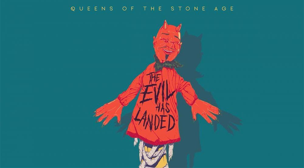 """The Evil Has Landed"", nuevo adelanto de Queens of the Stone Age"