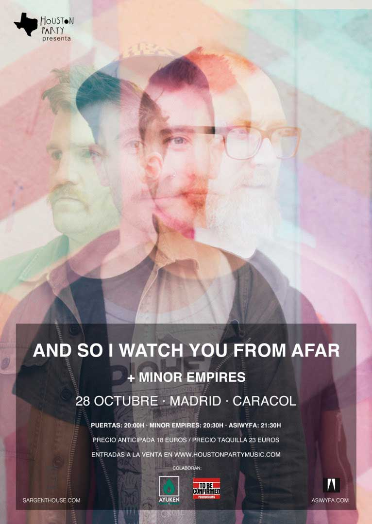 Minor Empires, teloneros de And So I Watch You From Afar