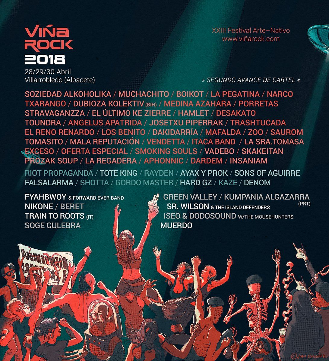 Viña Rock 2018 / Segunda ronda de confirmaciones