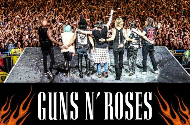 El festival Download confirma a Guns N' Roses