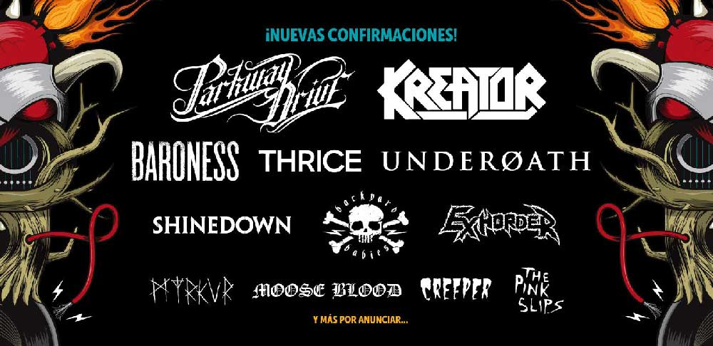 Parkway Drive y Thrice se suman al Download 2018