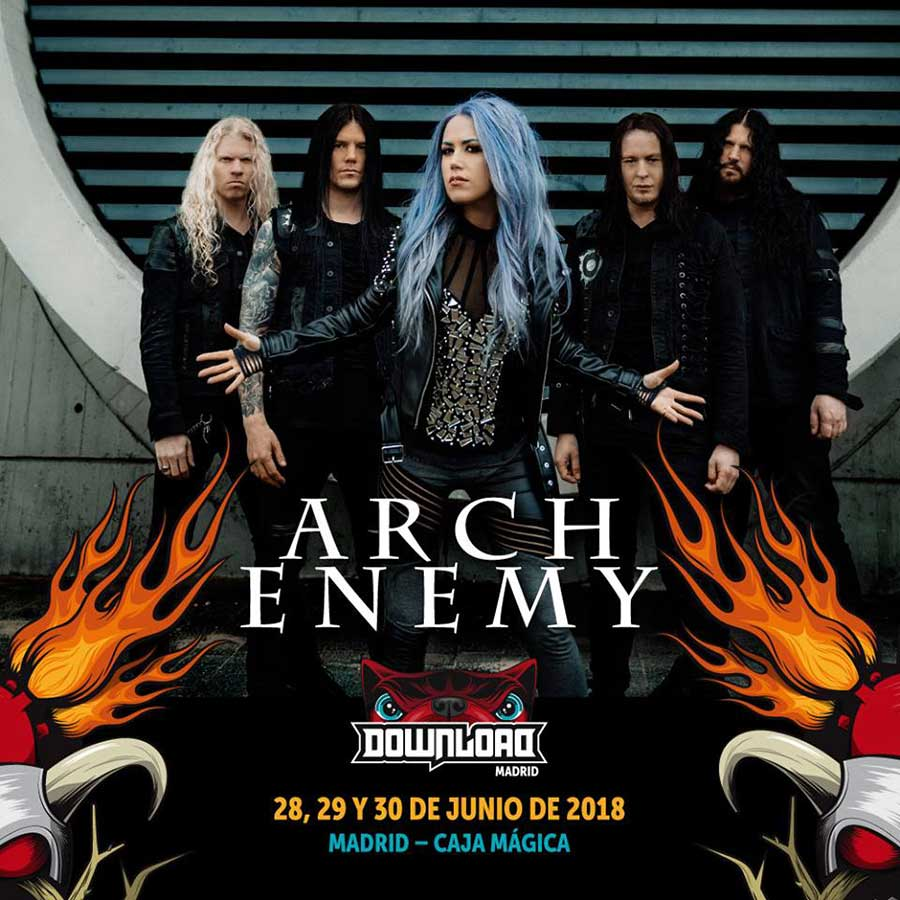 Arch Enemy al Download Festival