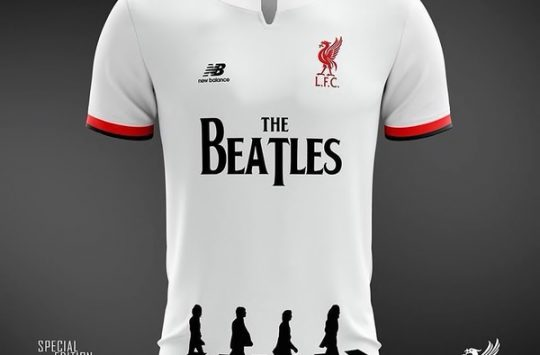 camiseta Liverpool homenaje a The Beatles