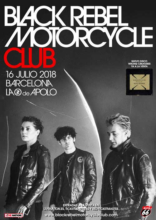 Black Rebel Motorcycle Club en Barcelona el 16 de julio